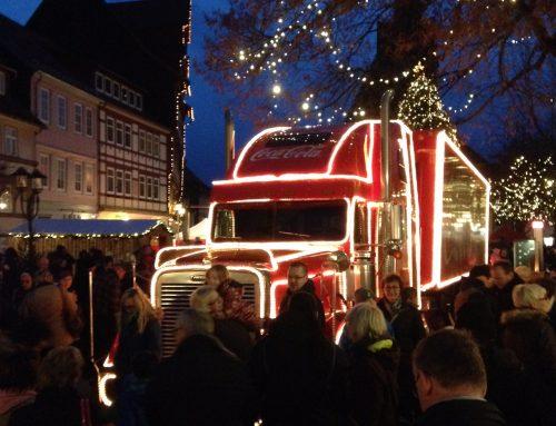 Coca Cola Truck 2015