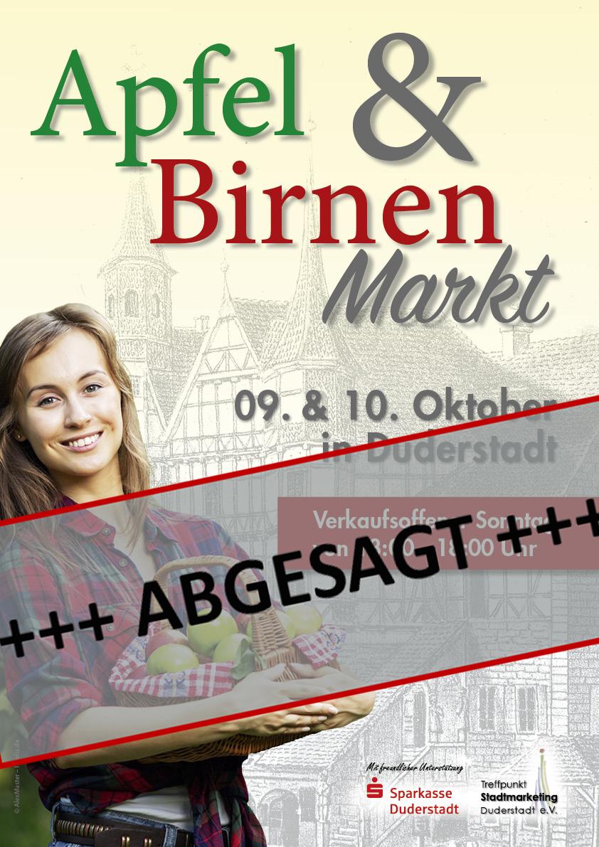 Apfel und Birnen Markt 2021