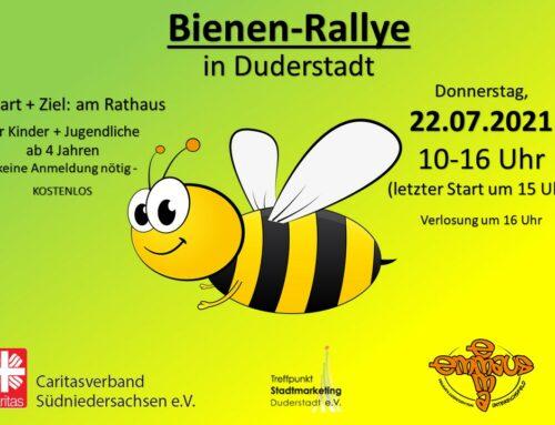 240 Kinder bei Bienenrallye